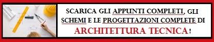 Clicca qui per scaricare gli appunti completi di ARCHITETTURA TECNICA!