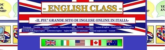 Clicca qui per accedere al sito di ENGLISH CLASS!!!